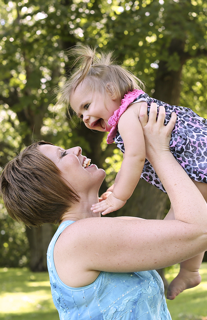 mother and daughter outdoor portrait by pixelations photography