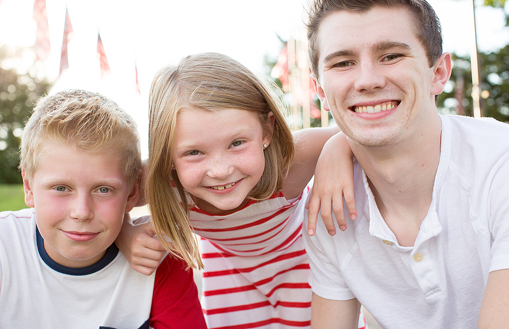 portrait of 3 children by pixelations photography
